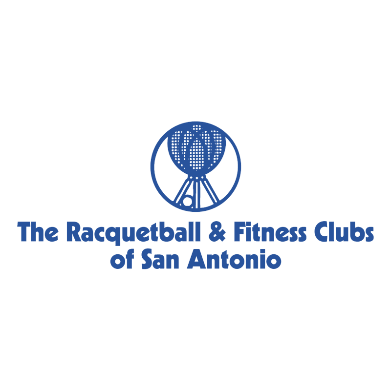 The Racquetball & Fitness Clubs of San Antonio vector
