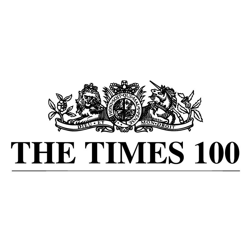 The Times 100 vector logo