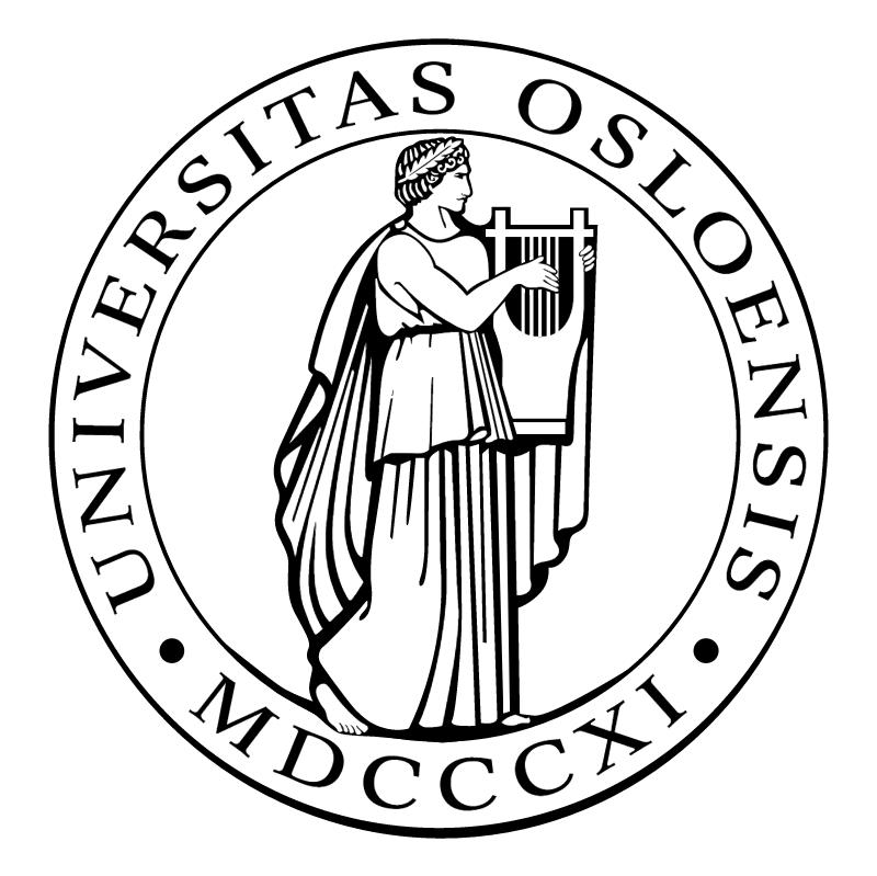 Universitas Osloensis vector