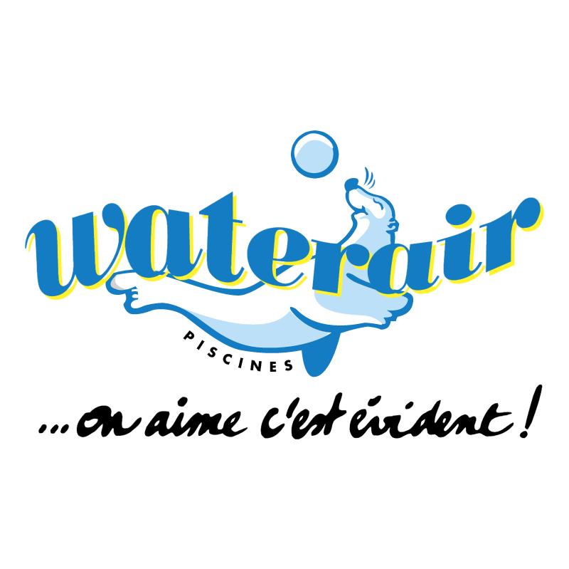 Waterair Piscines vector