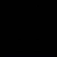 swimming pool ladder vector