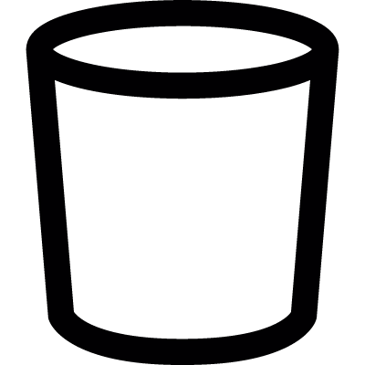 Bucket vector logo