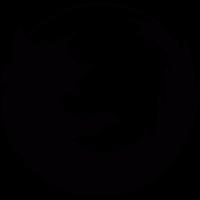 Firefox logotype vector