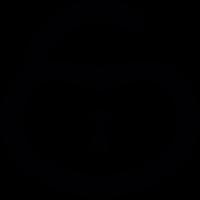 Heart shaped Padlock vector