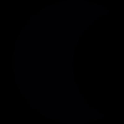 Crescent Moon vector logo