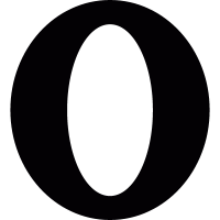 Opera browser logotype vector