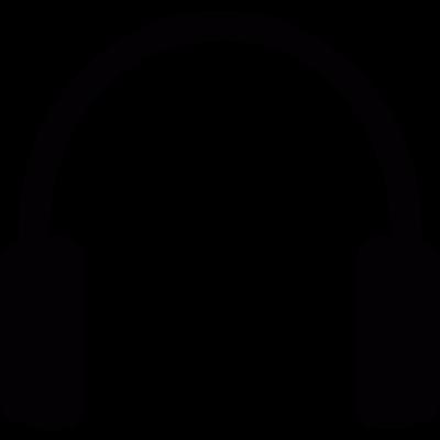 Headphones vector logo
