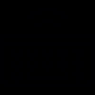 Wireless Keyboard vector logo