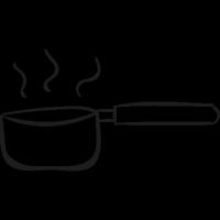 Boiling Water Pan vector
