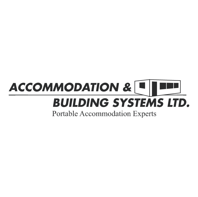 Accommodation & Building Systems vector logo