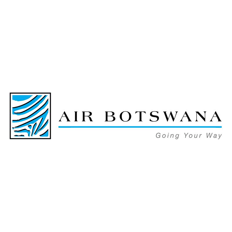 Air Botswana vector