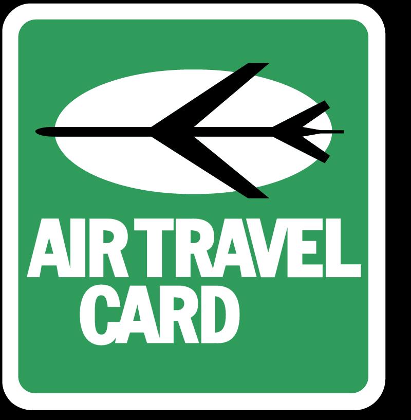 AIR TRAVEL CARD 1 vector