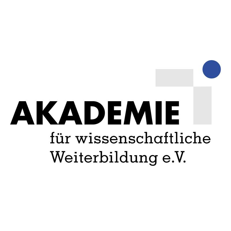 Akademie Fur Wissenschaftliche Weiterbildung vector
