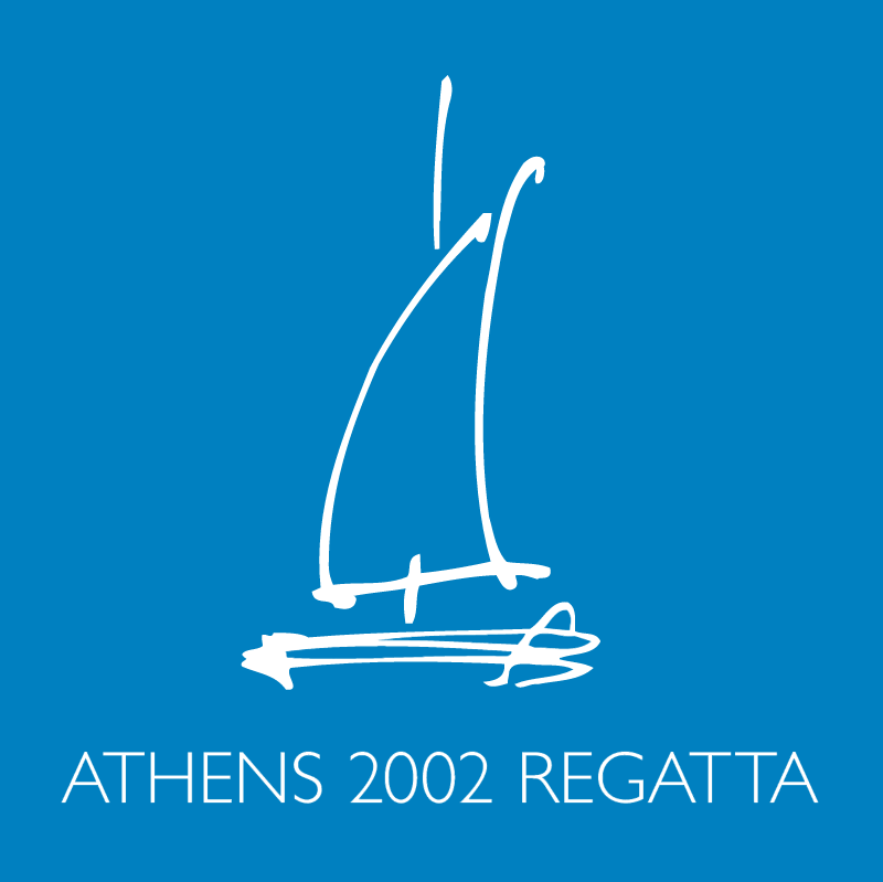 Athens 2002 Regata vector