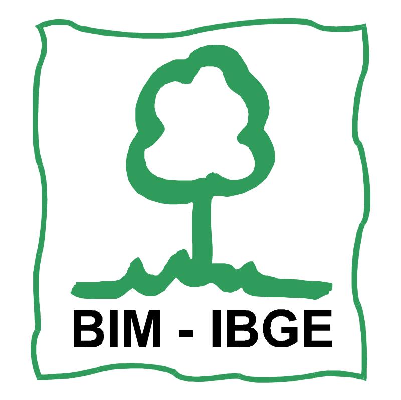 BIM IBGE vector logo