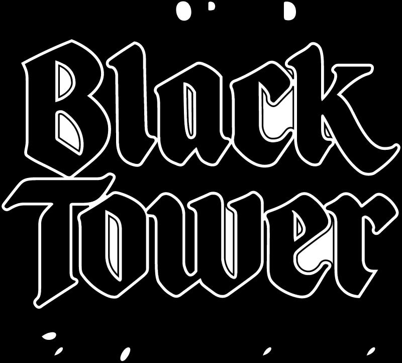 Black Tower vector logo