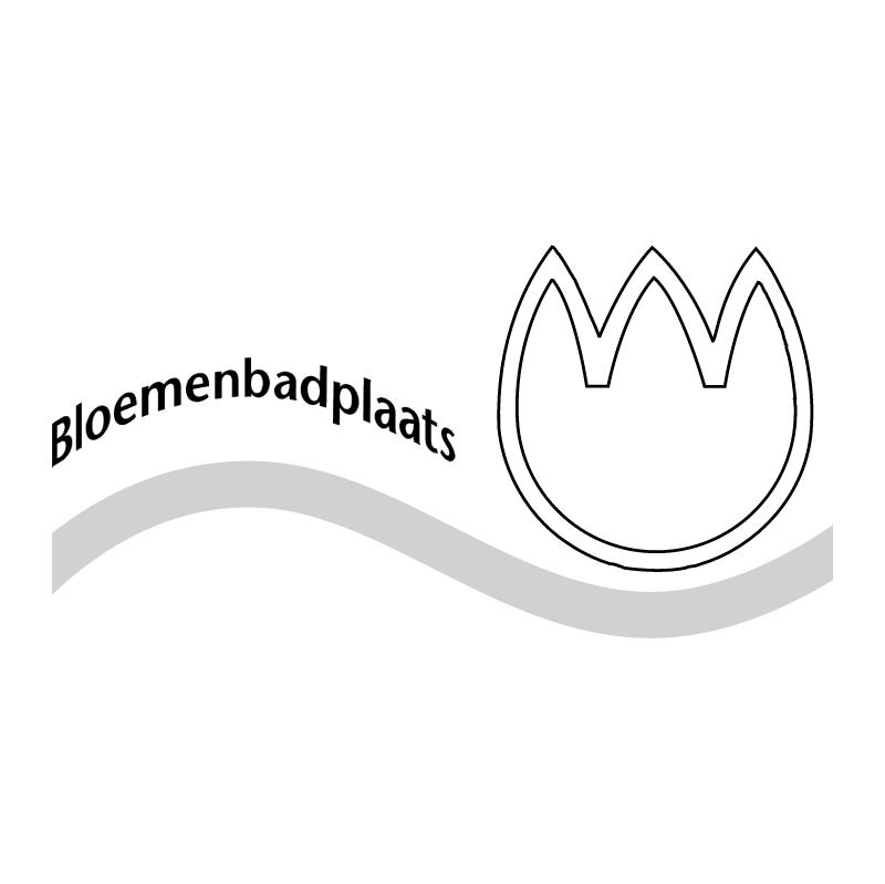 Bloemenbadplaats Noordwijk vector