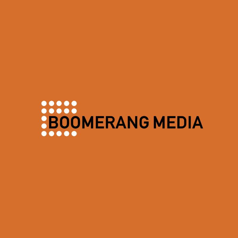 Boomerang Media vector logo