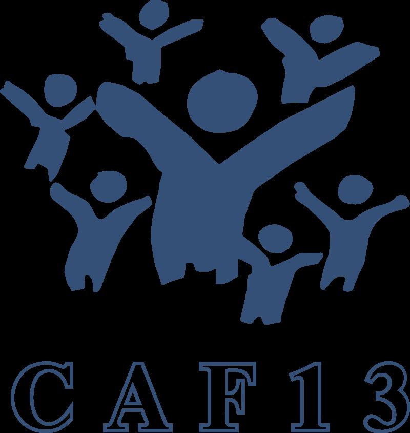 CAF 13 logo vector logo
