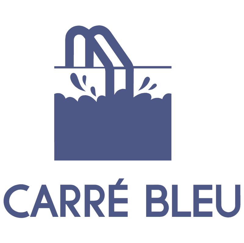 Carre Bleu vector