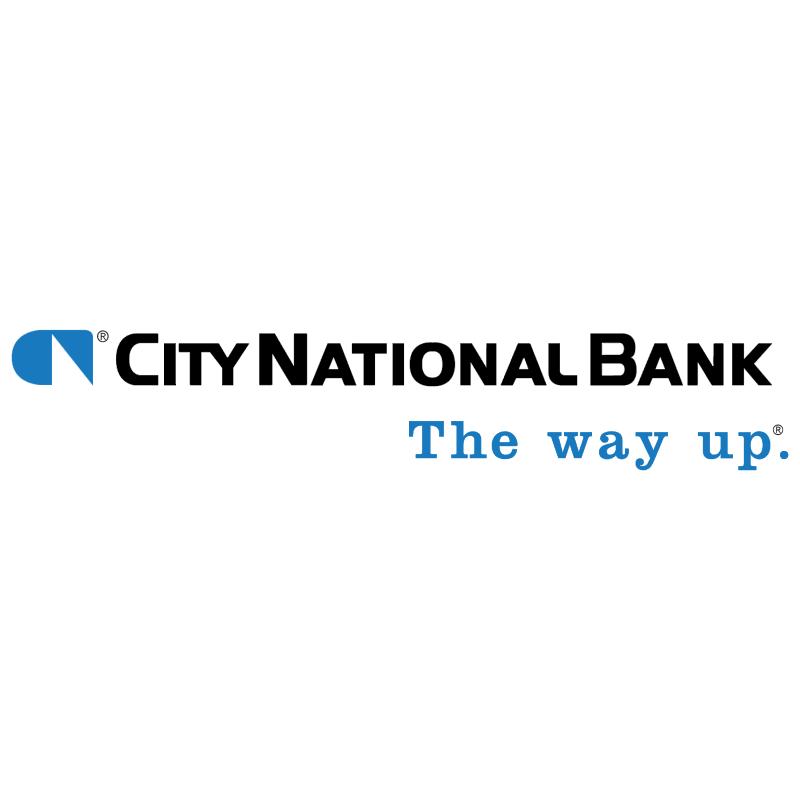 City National Bank vector