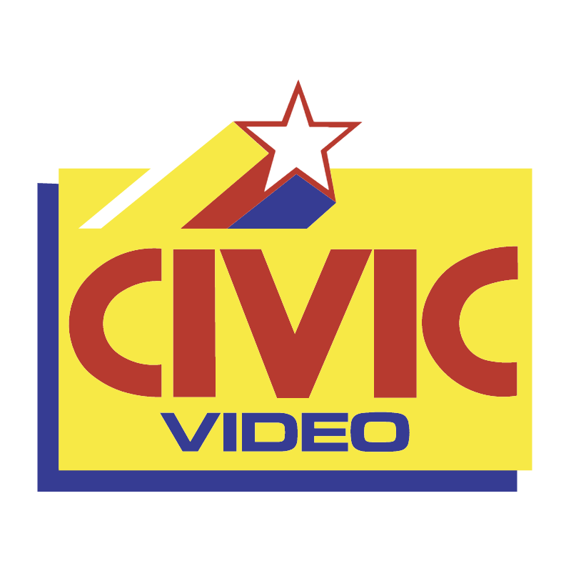 Civic Video vector logo