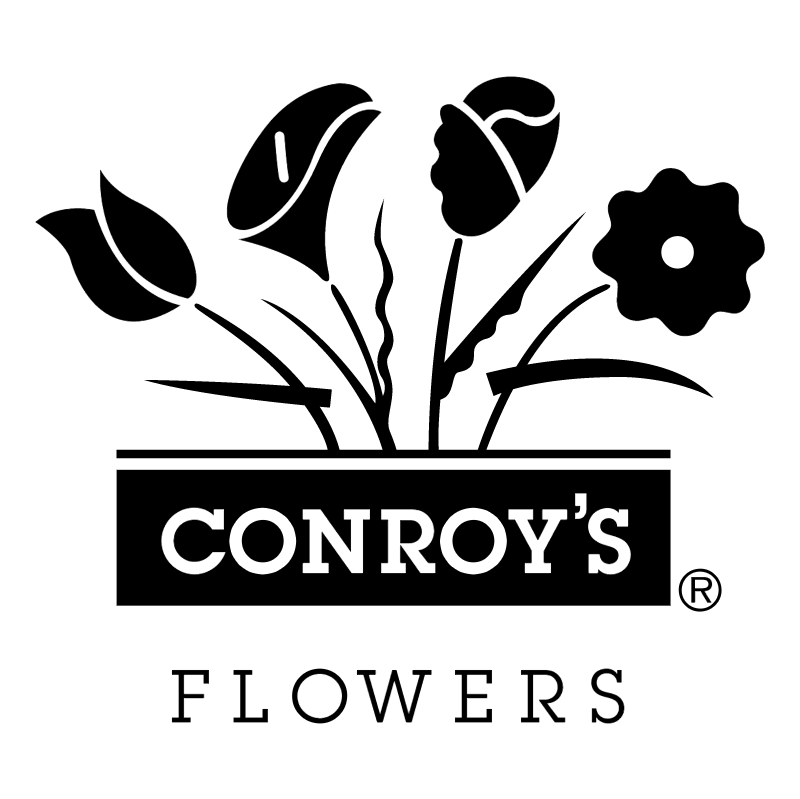 Conroy's Flowers vector