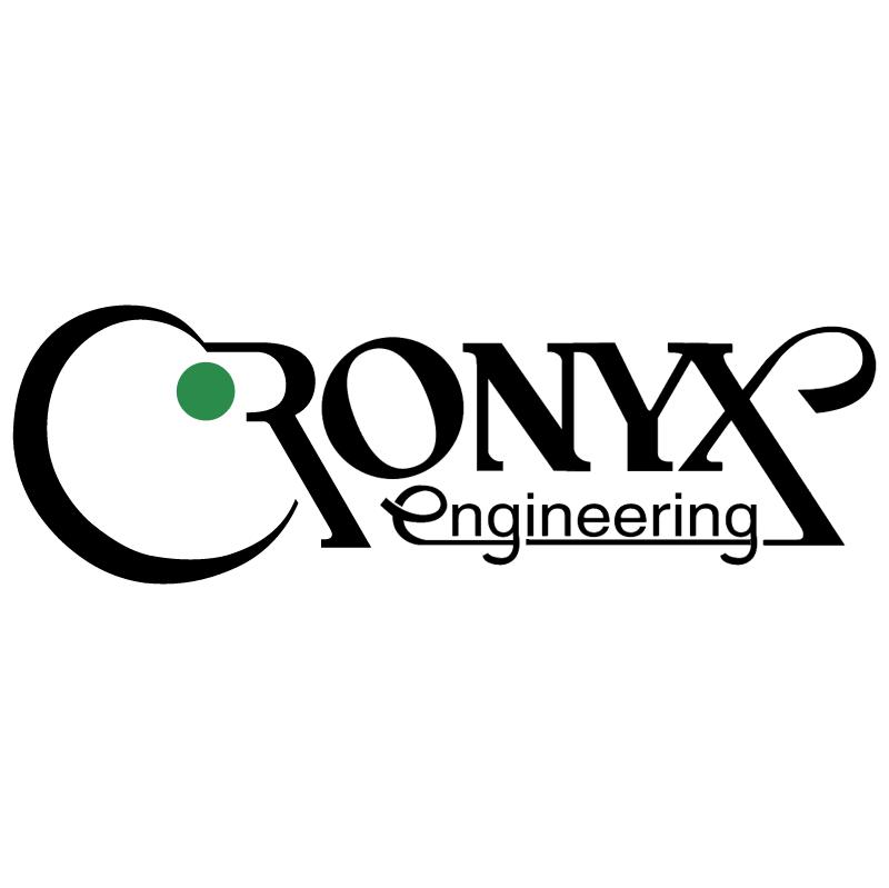 Cronyx Engineering vector logo