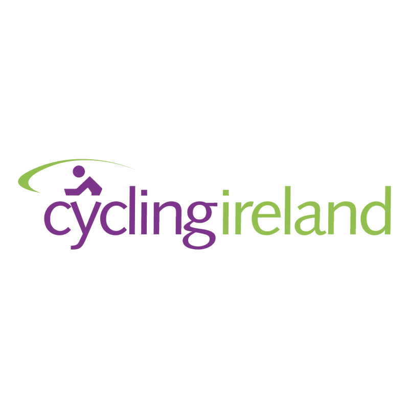 Cycling Ireland vector