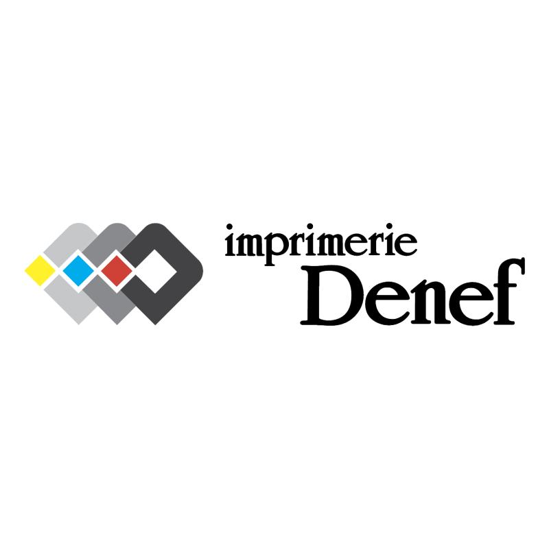 DDD Imprimerie Denef vector