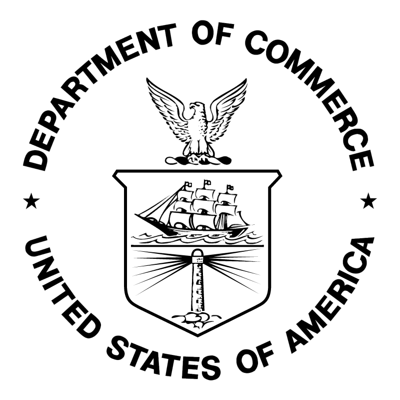 Department of Commerce vector logo