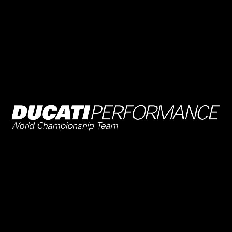 Ducati Performance vector