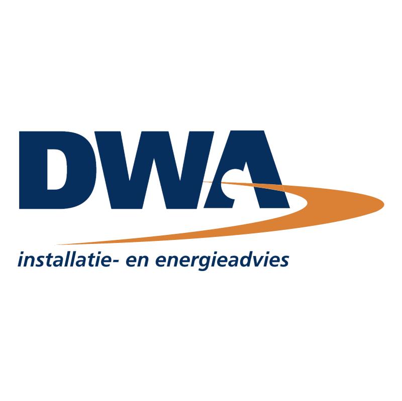 DWA installatie en energieadvies vector
