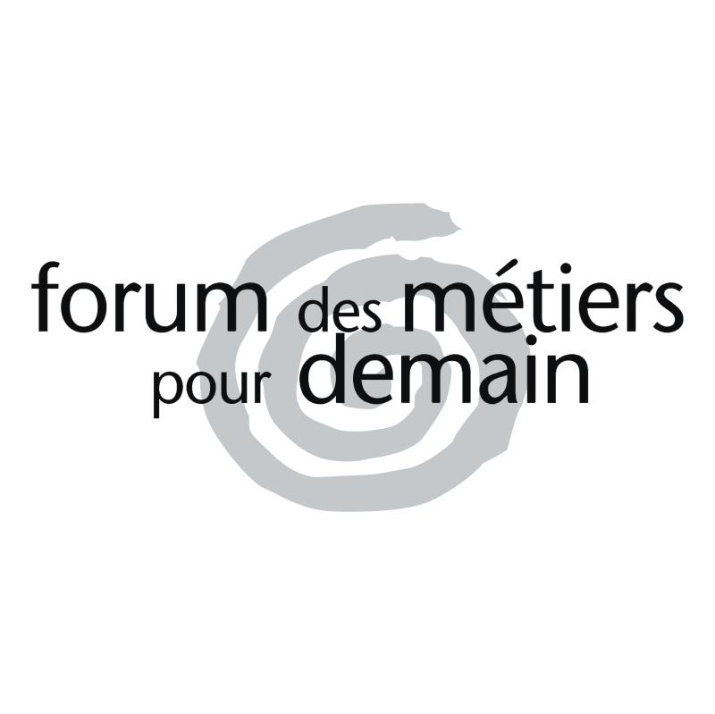 Forum des Metiers pour Demain vector