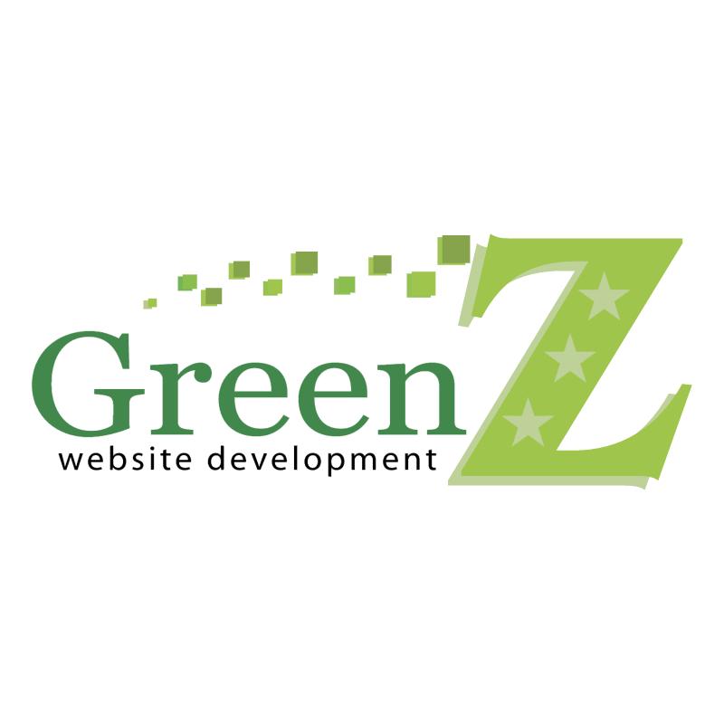 Green Z Website Development vector