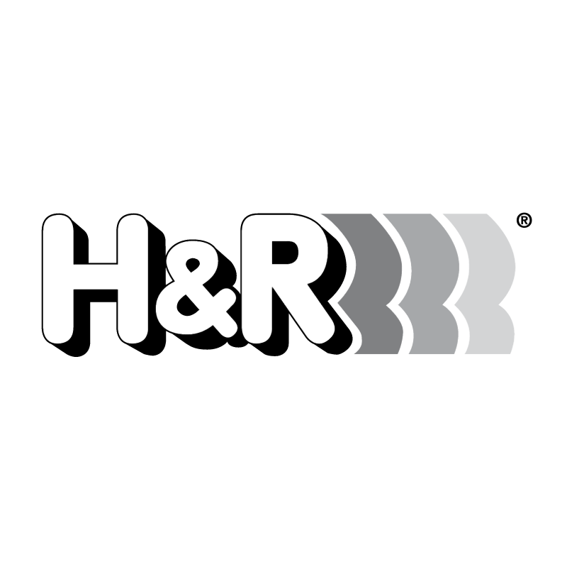 H&R vector logo