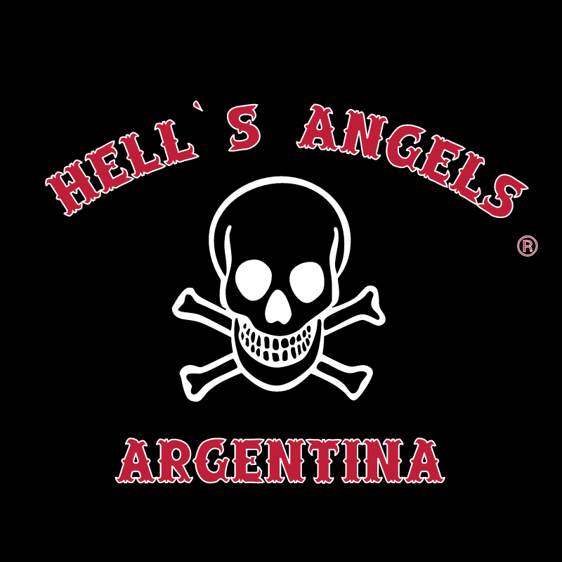 Hell's Angels Argentina vector
