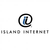 Island Internet vector