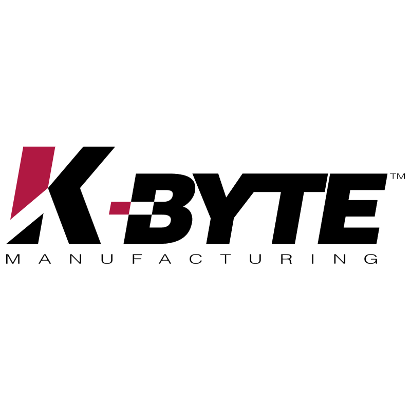 K Byte Manufacturing vector