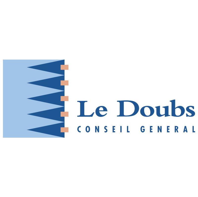 Le Doubs Conseil General vector