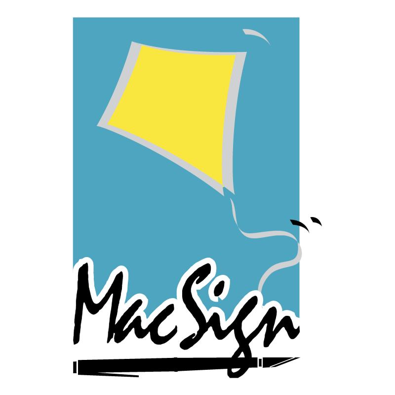 MacSign vector