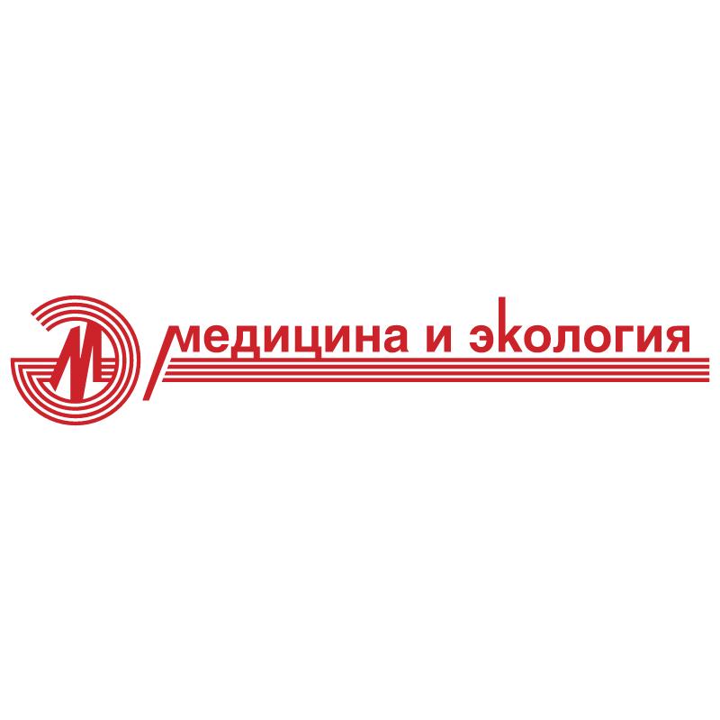 Medicina I Ekologiya vector logo