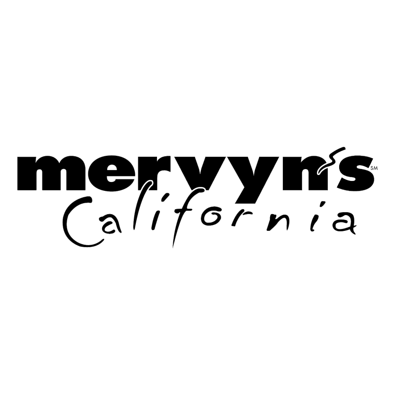 Mervyn's California vector
