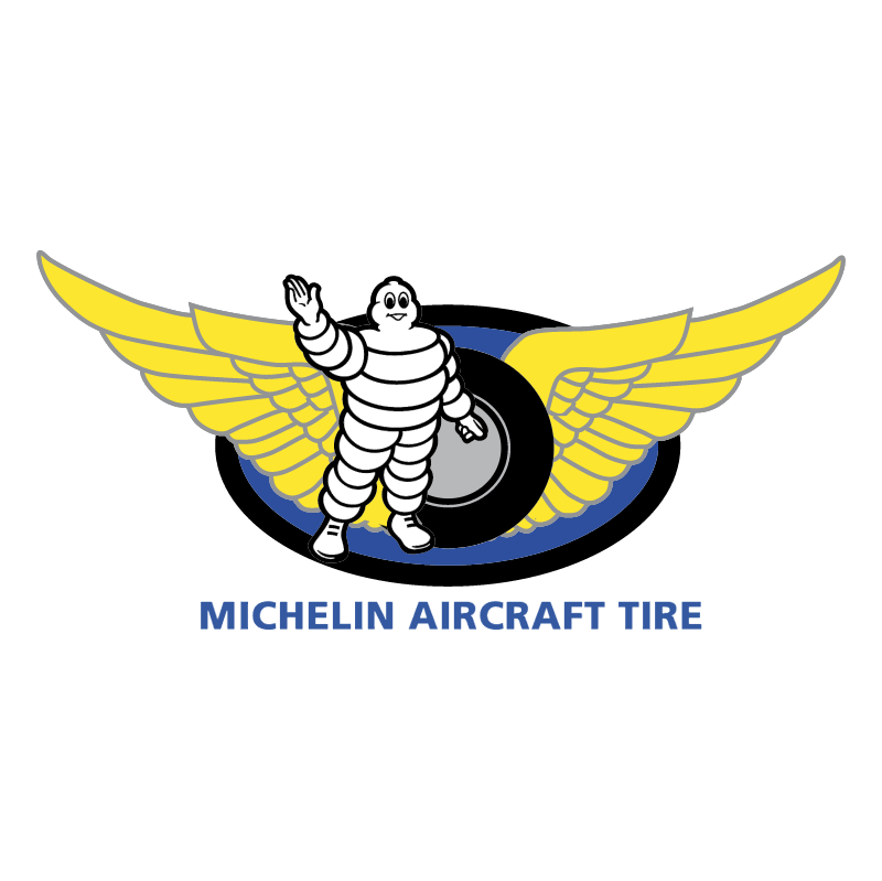 Michelin Aircraft Tire vector