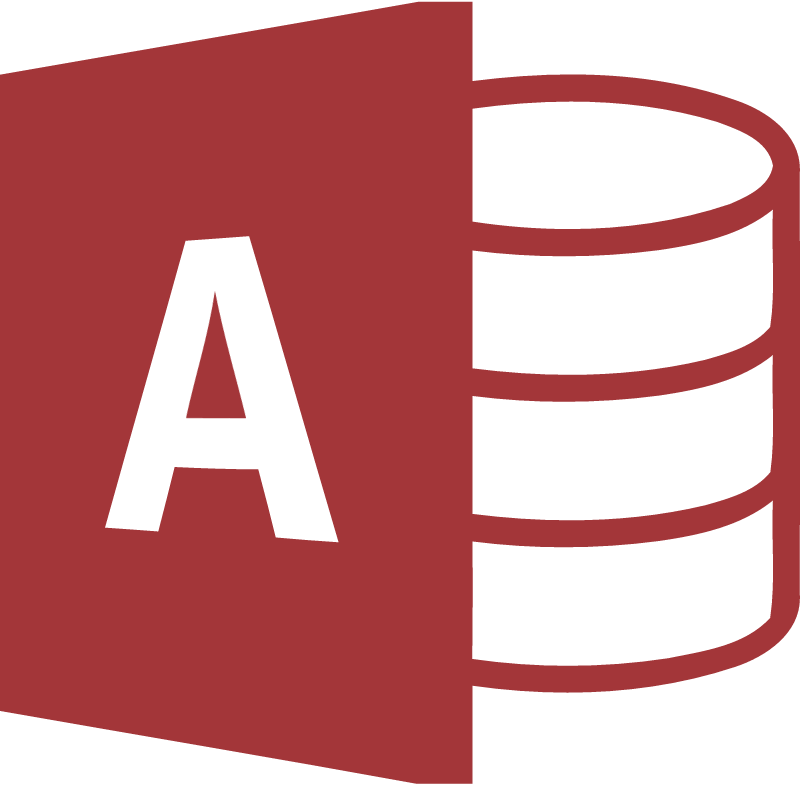Microsoft Access 2013 vector