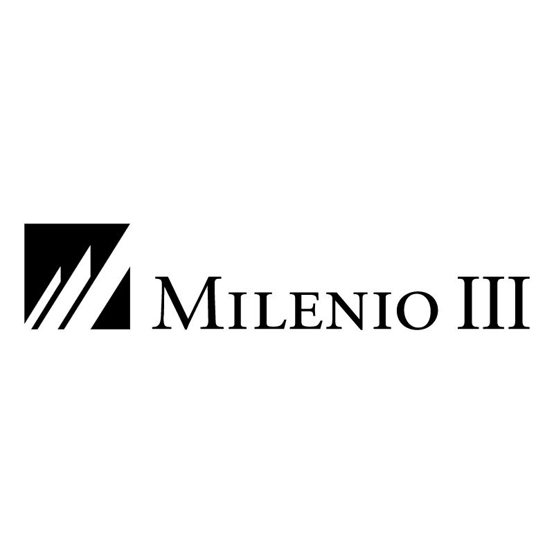 Milenio III vector