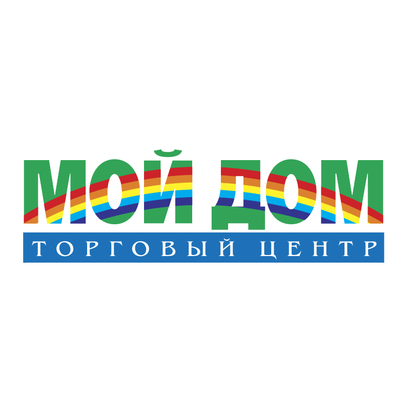 Moj Dom vector logo