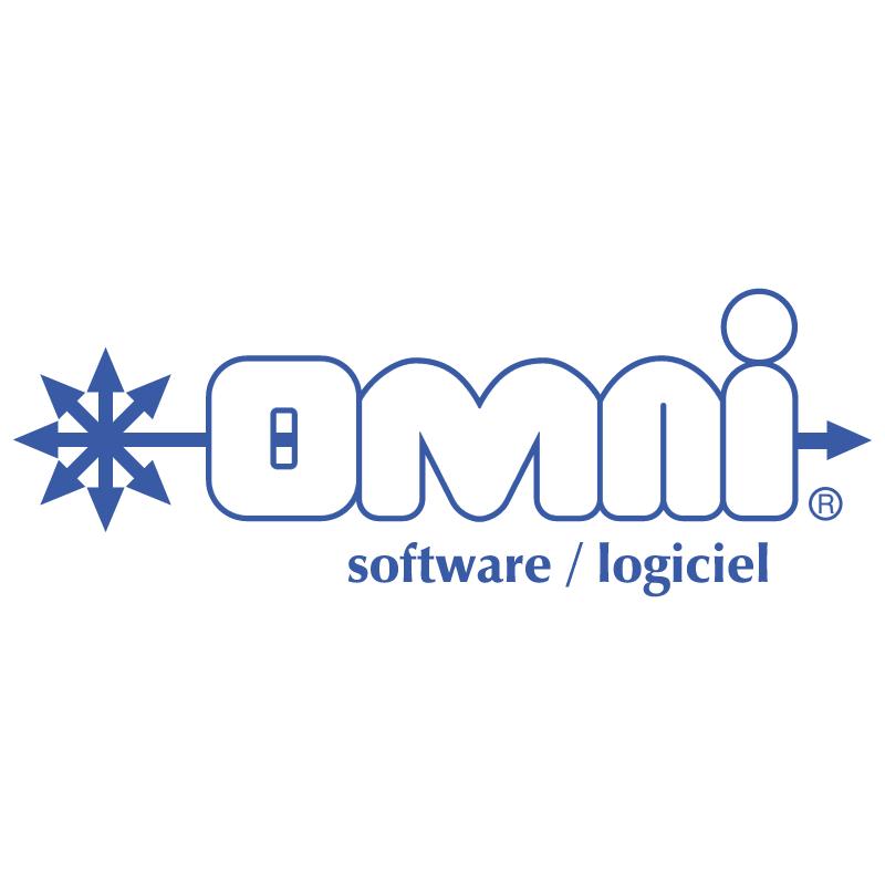 Omni Software Logiciel vector