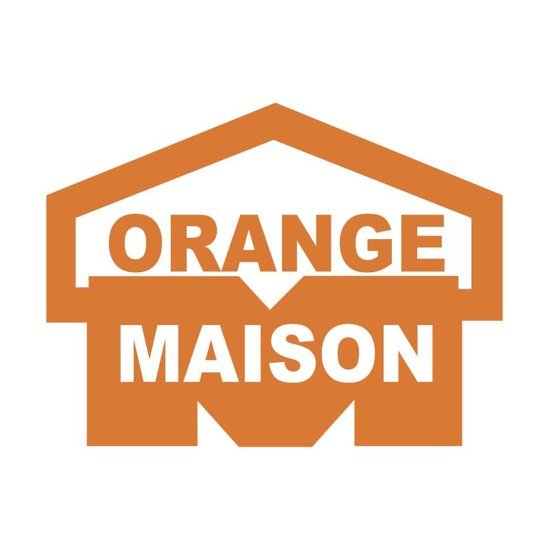 Orange Maison vector