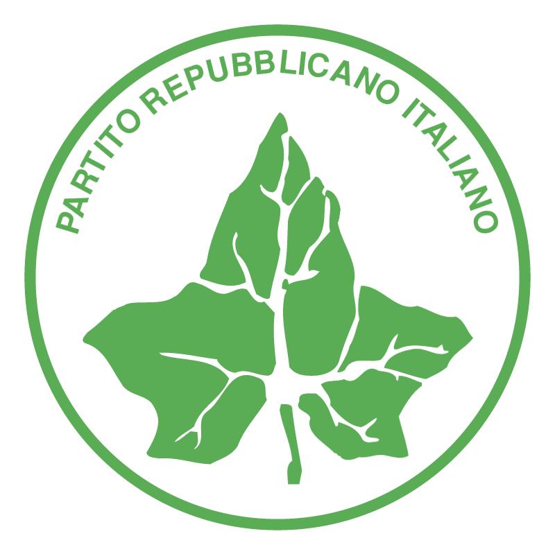 Partito Repubblicano Italiano vector logo